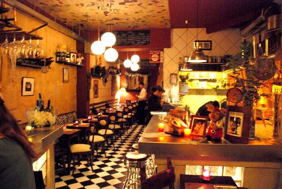 Pastis un toque parisino for Tipos de restaurantes franceses