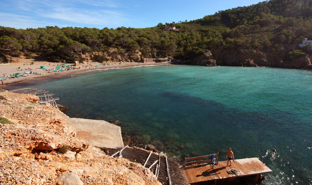 Playa Benirràs - Norte de Ibiza